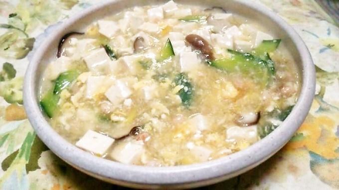 エビと豆腐の中華風うま煮~生姜が決め手!