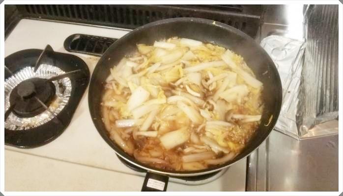 豆腐の代わりに白菜を使ったトロトロ麻婆白菜!