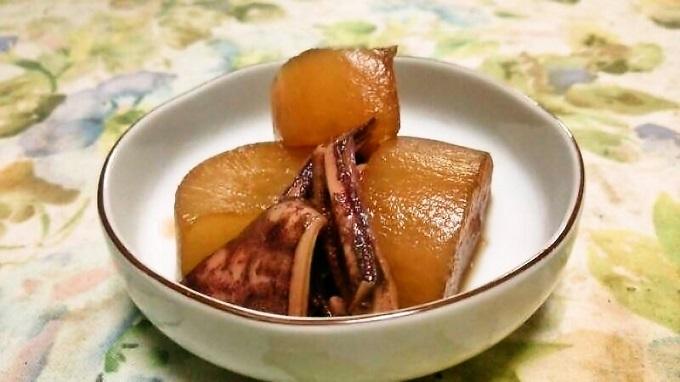 イカと大根の煮物~圧力鍋で下ゆでするとトロトロ