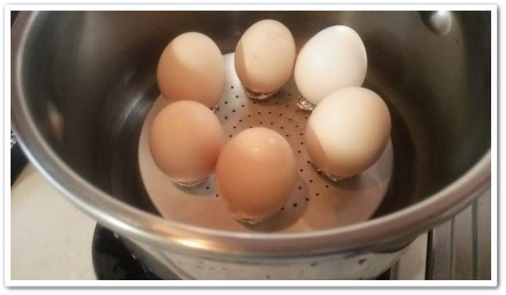 圧力鍋で加圧2分で出来るスピードゆで卵の作り方『破裂しません』