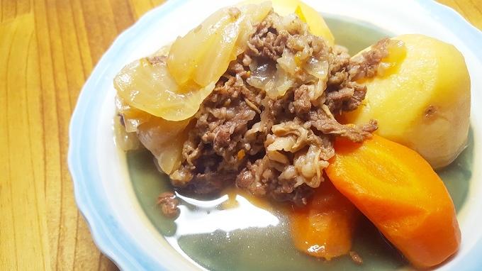松居一代さんのマジッククッキングで作る簡単肉じゃが~圧力鍋時短レシピ