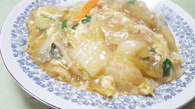 あんかけ焼きそば(広東麺)レシピ~フライパン1つで簡単料理