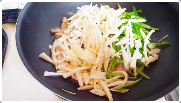 豚肉・ピーマン・タケノコで作る簡単チンジャオロース(青椒肉絲)レシピ!