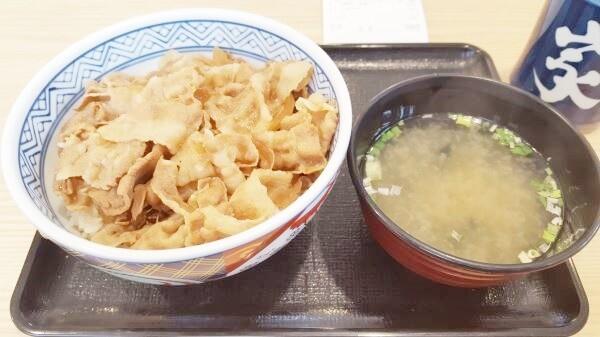 吉野家の復活した豚丼を満喫!~吹田市禁煙ランチ