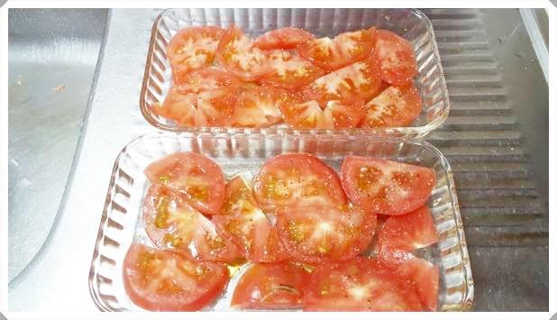 トマトチーズ焼き~人気オーブンレシピ【リコピンたっぷり!】