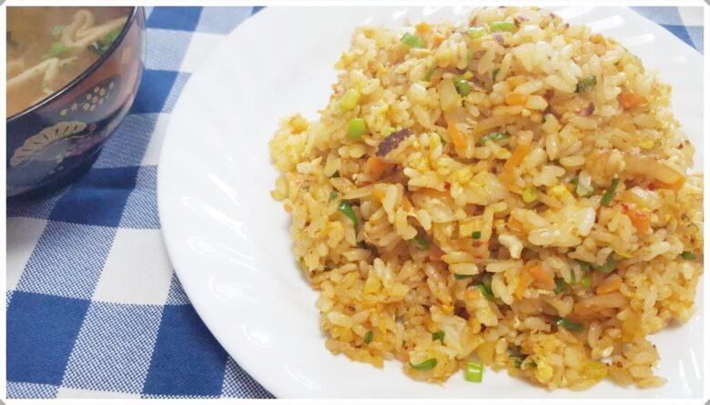 キムチ炒飯レシピ~カプサイシンパワーが凄い!