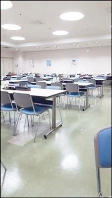 吹田市役所食堂 開店直後
