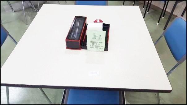 吹田市役所食堂 席を確保</p srcset=