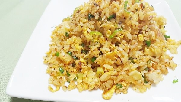 にんにく入りキムチ炒飯レシピ