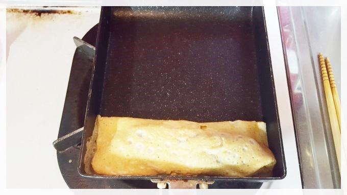 明太子入り出し巻き卵のレシピ・作り方