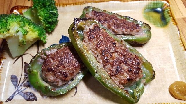 合い挽き肉で作る簡単ピーマン肉詰めレシピ
