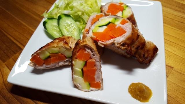豚肉の野菜巻き~簡単肉巻きレシピ