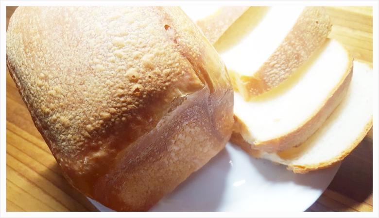 自家製天然酵母で作る国産小麦食パンの完成