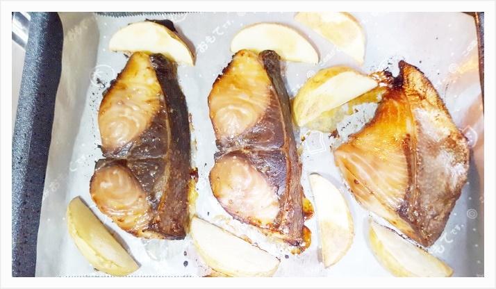 ぶりの味噌漬けレシピ~オーブン使用で後片付け簡単