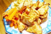揚げない鶏の唐揚げ~油を使わないオーブンレシピ
