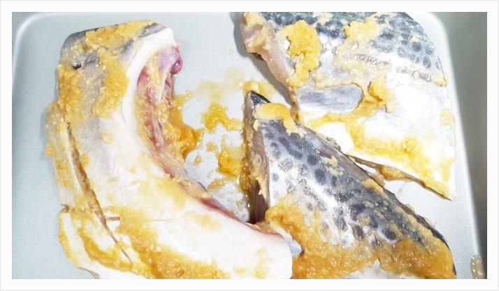 ぶりかまの味噌漬け~簡単オーブンレシピ