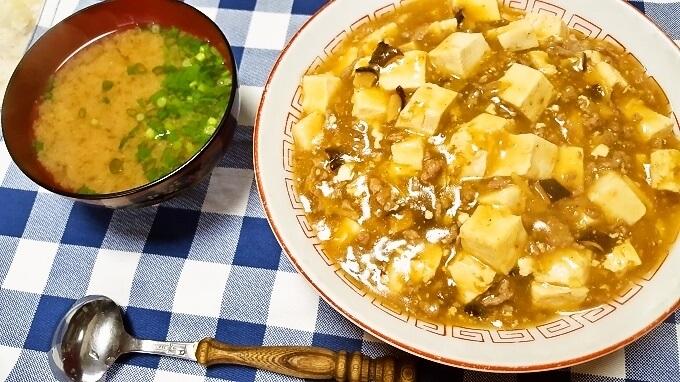 昼飯にサクッと手早く作りたいマーボー丼レシピ