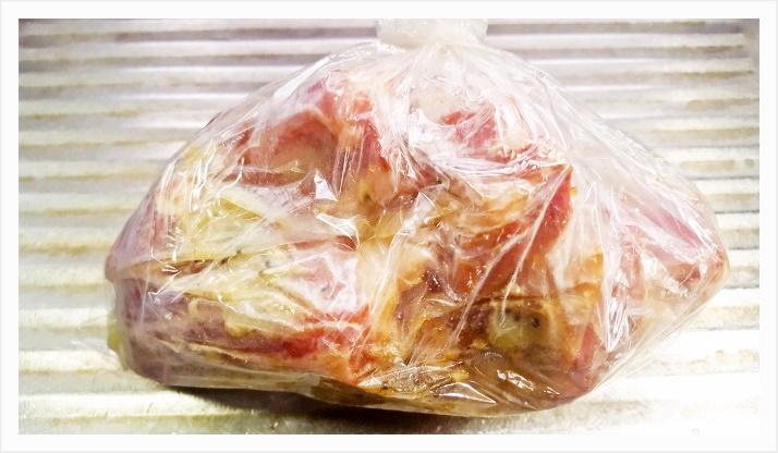 豚スペアリブの赤ワイン煮込み『圧力鍋使用で柔らかく』