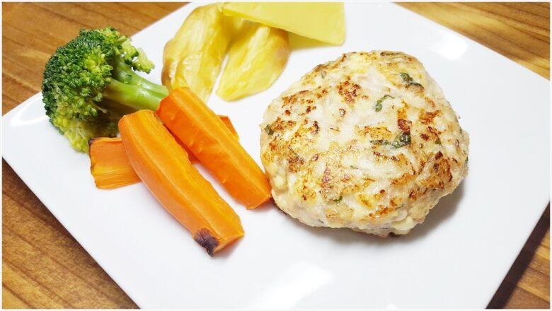 ヘルシー豆腐ハンバーグ【鶏ひき肉&大葉入り】