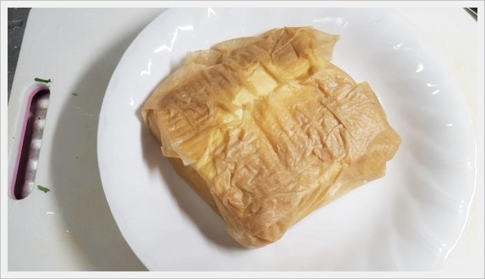 鶏肉を使った大葉入りヘルシー豆腐ハンバーグ