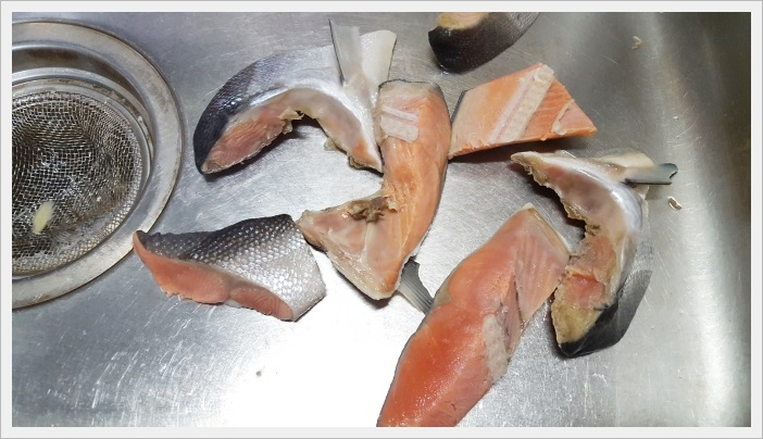 『ケンミンSHOW』で紹介された北海道風石狩鍋を作ってみた