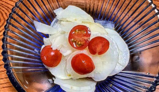 ヤーコンの甘酢和え~シャリシャリ感がクセになる簡単副菜