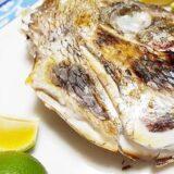 鯛の頭の塩焼き~かぶと焼き